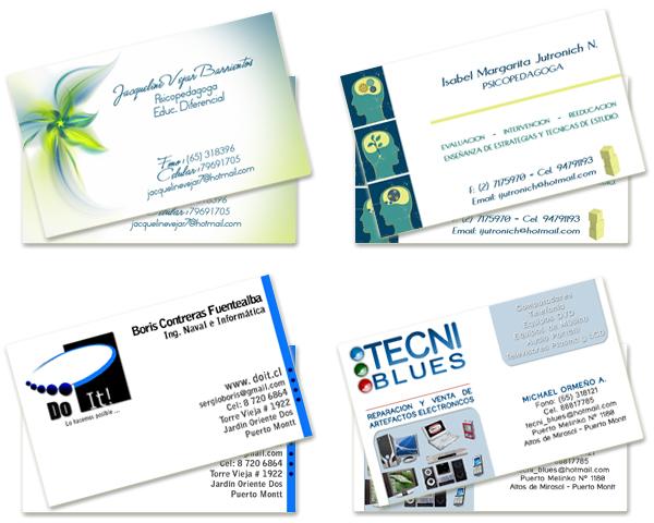 Tarjetas de presentacion tattoo design bild for Disenos para tarjetas